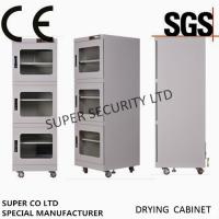 China Humidity Control Electronic Dry Storage Cabinet , Liquid Crystal Glass Board on sale