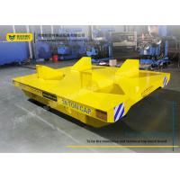 Wholesale Heat Resistant Coil Transfer Trolley / Warehouse Carts Material Handling Equipment from china suppliers