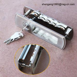 Wholesale Sliding Door Lock Handle Decorative Zinc Alloy Sliding Door Key Lock / Handle from china suppliers