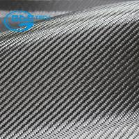 Wholesale 3k twill carbon fiber fabric in automotive, high strength irregular twill carbon fiber fabric mixed metallic yarn from china suppliers