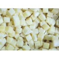 Buy cheap Frozen Cubed Potatoes Organic Frozen Fruit With Packing Blue PE Bags from Wholesalers