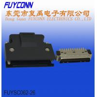 Buy cheap Male SCSI Connector 50 Pin With Solder Terminal PBT Insulator Material from wholesalers