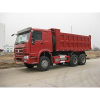 Sinotruk tipper / dump mining truck 10 wheelers factory supply reinforce frame and CDW Loading
