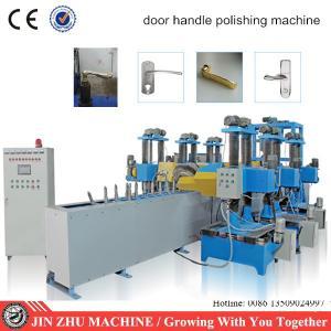 China High production conveyor automatic door handle polishing machine on sale