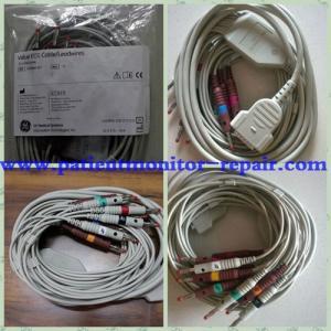 China Original GE Volue ECG Cable / Leaswires 2019893-001 For MAC 1200 ECG Machine on sale