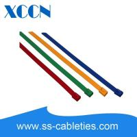 China Metal Detectable Electrical Cable Ties Wraps Additional Surface Protection on sale