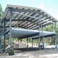 Wholesale Modular Two Storey Steel Structure Office Building with Short Construction Time from china suppliers