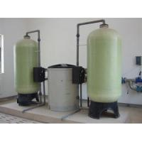 China 10 Ton/ Hour Water Softener Plant / Water Treatment Systems For Hard Water on sale