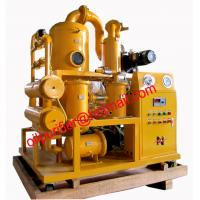 Mobile Double Stages Vacuum Transformer Oil Purifier System, transformer oil purification equipment
