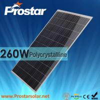 Wholesale Prostar 260w solar module polycrystalline silicon solar panel from china suppliers