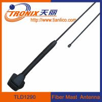 Wholesale 1 section fiber mast car antenna/ fiberglass mast car antenna/ active radio antenna TLD1290 from china suppliers