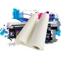 China Latex / Eco solvent 380gsm inkjet poly cotton matte glossy canvas print for digital plotter on sale