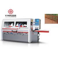 Wholesale High Efficiency 4 Sided Planer Moulder Heavy Duty Woodworking Machiene Power Saving from china suppliers