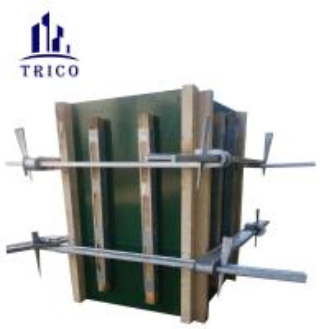 China Adjustable Precast Concrete column Formwork Clamp Made of Q345B Steel on sale