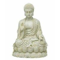 2012 hot product red buddha statue