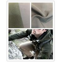 China Breathable Super Stretch Fabric , 75D Four Way Stretch Fabric With Polar Fleece on sale