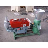 Wholesale Wheat Straw / Sunflower Stalk / Wood Pellet Machine PLM120D 40 - 60 kg / h from china suppliers
