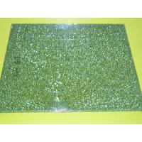 Buy cheap hot selling High quality Rocky edged tempered edged Glass from wholesalers