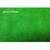 Wholesale Green 150cm Width microfiber car cleaning cloths Kitchen Bathroom Use Warp Terry Fabric from china suppliers