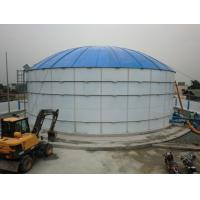 Wholesale 6.0 Mohs Hardness Glass Fused To Steel Tanks For Landfill Leachate Storage from china suppliers