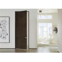 Wholesale Laminate Coated Mdf Wooden Composite Front Doors Flush Interior PVC Swing Open Style from china suppliers