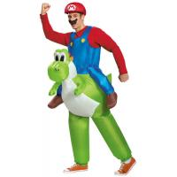 China Super Mario Inflatable Costumes , Adult Fat Inflatable Yoshi Costume on sale