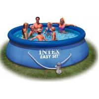 Wholesale Outdoor Round Inflatable Swimming Pools with filter for home backyard water games from china suppliers