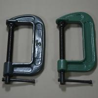 Wholesale High quality Black Green 4'' 8'' 12'' Woodworking G clamp C clamp for Carpenters from china suppliers