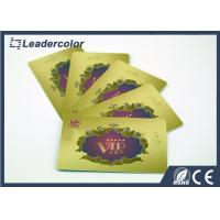Quality Hotel Keys RFID Plastic Card , VIP Member Card Signature Panel 0.76 mm Thick for sale