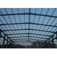 Long Span Industrial Steel Structures PEB Bespoken Structural Steel Frame Construction