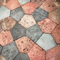 Wholesale Pentagon Lava Stone Patio Pavers from china suppliers