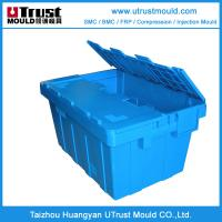 Wholesale Plastic injection mould Custom design storage Turnover Box Mold maker China from china suppliers