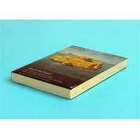 Wholesale A5 Novel Softcover Book Printing Services , Glossy Lamination Single Black Inner Page from china suppliers
