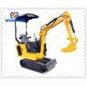 Buy cheap 0.11m3 Bucket 3.5 Ton Mini Crawler Excavator For Farm from wholesalers