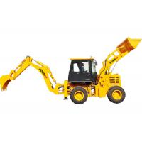 Wholesale Small Driven Backhoe Loader Bucket , WZ30-25 Log Wheel Loader Construction Machinery from china suppliers