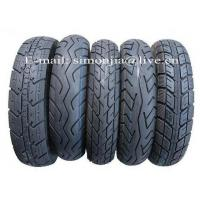 Quality Motorcycle Tubeless Tyres 3.50-10 for sale