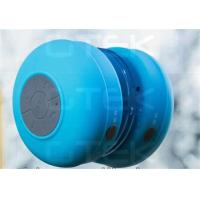 Buy cheap Blue Waterproof Wireless Bluetooth Shower Speaker For HTC / Sony / iPhone 5 from wholesalers