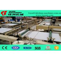 Wholesale PLC System Gypsum Board Ceiling Tiles PVC Flim Tape Edge Machine 380V from china suppliers