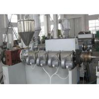 Wholesale PVC Corrugated Pipe Making Machine Twin Screw Extruder , Single Wall PVC Pipe Extrusion Machine from china suppliers