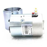 Wholesale 2700Rpm Hydraulic 24v Electric Motor 2.2KW N2024 Silver Color With Shaft from china suppliers