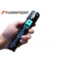 Direct Charge Zoom LED Flashlight with Power Bank Function, Outdoor T6 LED Torch