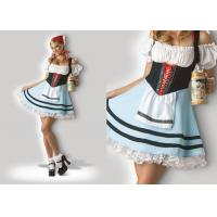Wholesale Oktoberfest Girl 1039  Halloween Adult Costumes Cosplay Dress Clubwear With Scarf from china suppliers