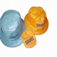Wholesale Visor/Promotional Hats with Thin Nylon Fabric, Lightweight and Comfortable from china suppliers