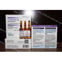 Buy cheap Weight loss hot sale L-carnitine 1g, 2g for injection with good effect from wholesalers