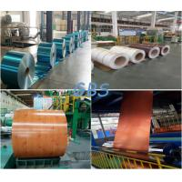 Wholesale Non Alloy Color Coated Aluminum Coil Multi Colors Precoating PE / PVDF Paint from china suppliers