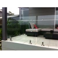 Wholesale Hot-selling stainless steel spigot frameless glass railing/ glass balustrade from china suppliers