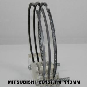 China OEM 6 Cylinder Piston Ring Set for Mitsubishi Truck , Sandblasted ME999929 6D15T on sale