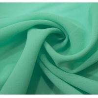 Buy cheap Lean Textile 75D high twist chiffon fabric from wholesalers
