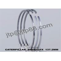 China Cast Steel Cylinder Piston Ring 8N0822 Diameter 137mm / Engine Repair Parts on sale