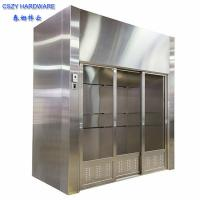 Wholesale lab furniture laboratory walk in fume hoods lab fume hood with fume scrubber from china suppliers